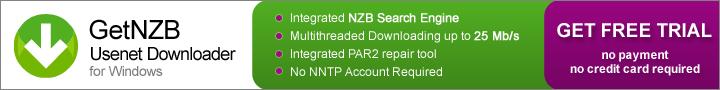 GetNZB : 1go sans engagement pour tester